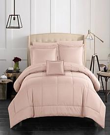 Chic Home Jordyn 8 Piece Queen Bed In a Bag Comforter Set