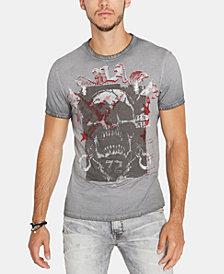 Buffalo David Bitton Men's Skull Graphic T-Shirt