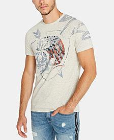 Buffalo David Bitton Men's Heather Graphic T-Shirt