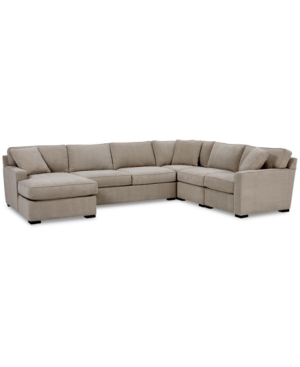 Radley 5-Pc. Fabric Chaise Sectional Sofa with Corner Piece, Created for Macy's