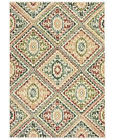 "Oriental Weavers Dawson 8530A Ivory/Multi 6'7"" x 9'6"" Area Rug"