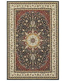 """Oriental Weavers Kashan 119U Navy/Ivory 9'10"""" x 12'10"""" Area Rug"""