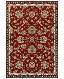 """Oriental Weavers Kashan 370R Red/Multi 7'10"""" x 10'10"""" Area Rug"""