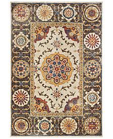 "Oriental Weavers Pandora 4929X Ivory/Brown 6'7"" x 9'6"" Area Rug"