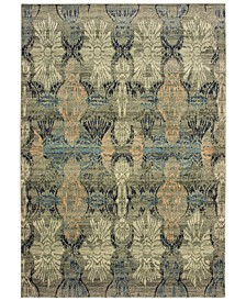 "Raleigh 2333Y Ivory/Gray 3'10"" x 5'5"" Area Rug"