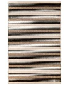 """Riviera 7640 Stripe 7'10"""" x 9'10"""" Indoor/Outdoor Area Rug"""