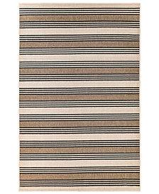 """Liora Manne' Riviera 7640 Stripe 1'11"""" x 7'6"""" Indoor/Outdoor Runner Area Rug"""