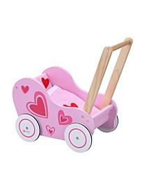 Wood Doll Stroller
