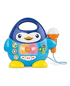 Penguin Music Player with Microphone