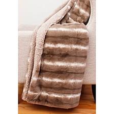 """Mandy Faux Fur Decorative 50"""" x 60"""""""