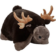 Pillow Pets Wild Chocolate Moose Stuffed Animal Plush Toy
