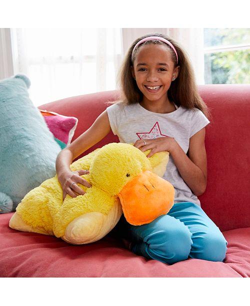 Pillow Pets Signature Puffy Duck Stuffed Animal Plush Toy Reviews