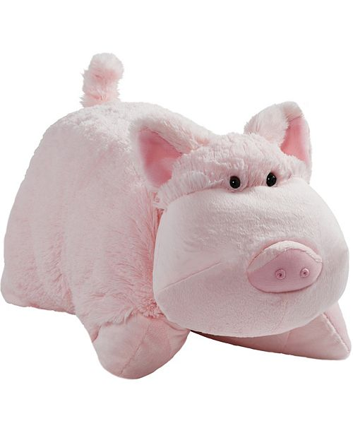 Pillow Pets Signature Wiggly Pig Stuffed Animal Plush Toy