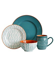 Baum Tangiers 16 Piece Dinnerware Set