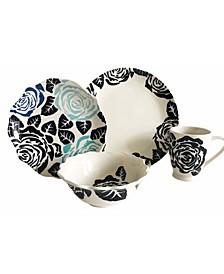 Gardenia 16 Piece Dinnerware Set
