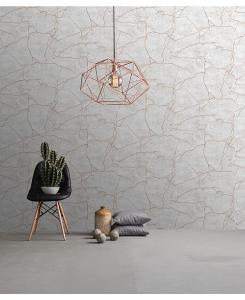 ... Graham & Brown Kintsugi Rose Gold Wallpaper ...