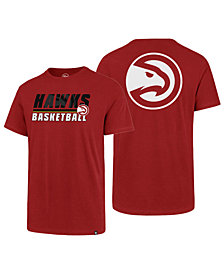'47 Brand Men's Atlanta Hawks Fade Back Super Rival T-Shirt