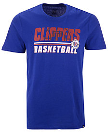 '47 Brand Men's Los Angeles Clippers Fade Back Super Rival T-Shirt