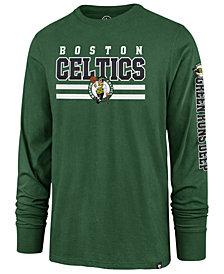 '47 Brand Men's Boston Celtics Level Up Super Rival Long Sleeve T-Shirt