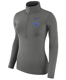 Nike Women's Kentucky Wildcats Hyperwarm Quarter-Zip Pullover