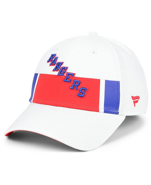 Authentic NHL Headwear Fanatics New York Rangers Alternate Jersey Speed Flex Stretch Fitted Cap