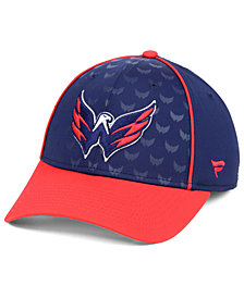 Fanatics Washington Capitals Dual Speed Flex Stretch Fitted Cap