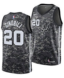 Nike Men's Manu Ginobili San Antonio Spurs City Swingman Jersey 2018