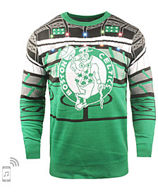 Forever Collectibles Men's Boston Celtics Bluetooth Sweater
