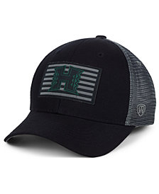 Top of the World Hawaii Warriors Back the School Flag Trucker Cap