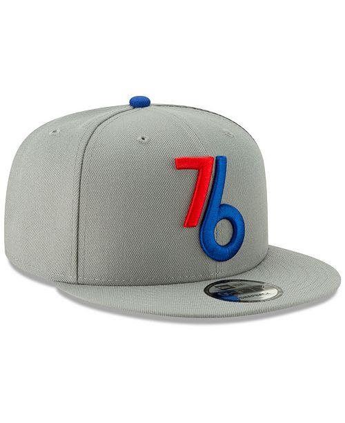 official photos 3372d b8ae4 ... New Era Philadelphia 76ers City Series 2.0 9FIFTY Snapback Cap ...