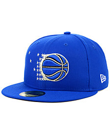 New Era Orlando Magic Hardwood Classic Nights 59FIFTY Fitted Cap