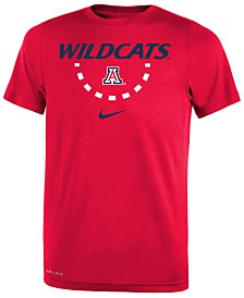 Nike Arizona Wildcats Basketball Legend Logo T-Shirt 2018, Big Boys (8-20)
