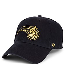 Orlando Magic Met Gold CLEAN UP Cap