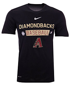 Nike Men's Arizona Diamondbacks Authentic Collection 2nd Season T-Shirt