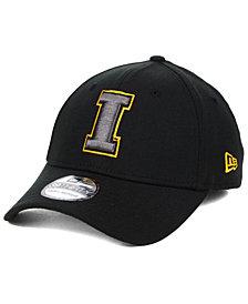 New Era Iowa Hawkeyes Black Pop Flex 39THIRTY Cap