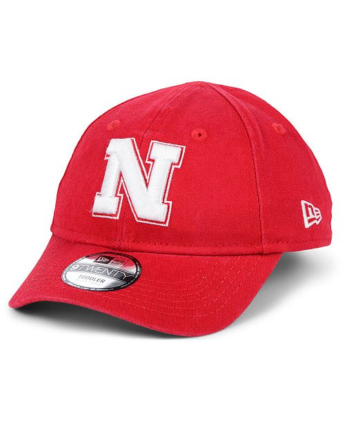 New Era Toddlers' Nebraska Cornhuskers Junior 9TWENTY Cap