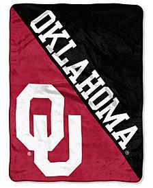Northwest Company Oklahoma Sooners Micro Raschel Halftone Blanket