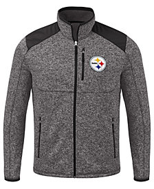 G-III Sports Men's Pittsburgh Steelers Back Country Player Front Zip Jacket