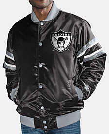G-III Sports Men's Oakland Raiders Retro Varsity Jacket