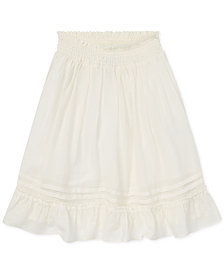 Polo Ralph Lauren Big Girls Ruffled Skirt