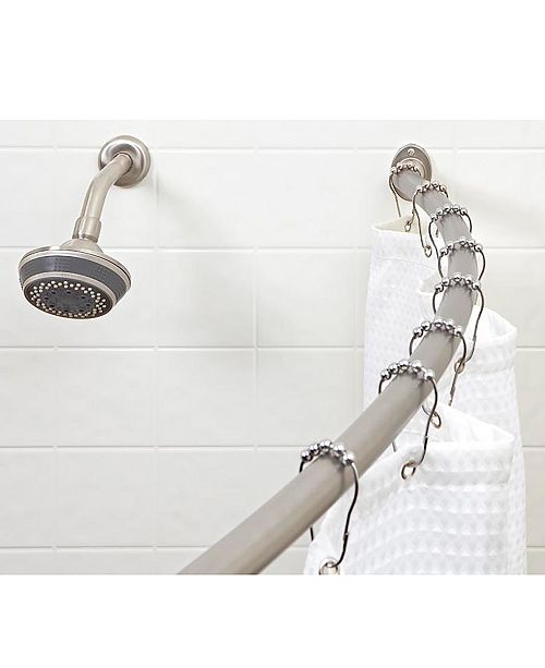 Bath Bliss Curved Shower Rod
