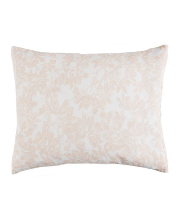 Sleeping Partners International. INC Caskata Cotton Canvas Lumbar Pillow With Feather and Down Insert