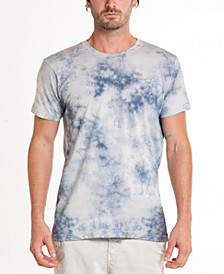 South Sea Crystal Wash Tie Dye Crewneck Tee