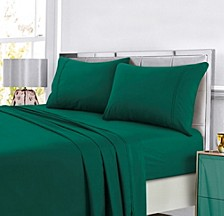 Super Soft Solid DP Easy-Care Extra Deep Pocket Cal King Sheet Set