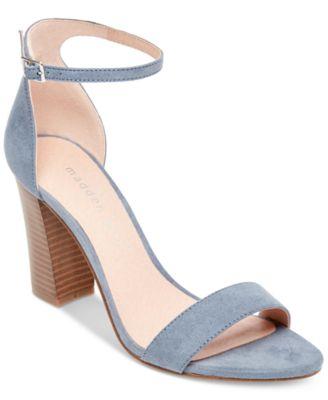 20aa166f81c Madden Girl Bella Two-Piece Block Heel Sandals   Reviews - Sandals   Flip  Flops - Shoes - Macy s