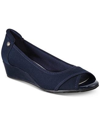 ec715531ce8e6 Anne Klein Corner Wedge Heels & Reviews - Heels & Pumps - Shoes - Macy's