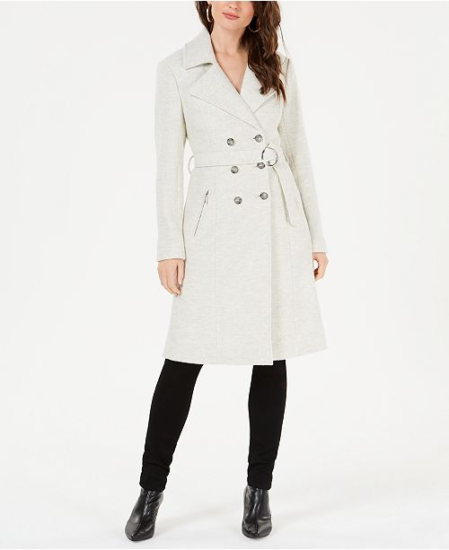 online store new concept hot-selling GUESS Bralee Belted Trench Coat & Reviews - Coats ...