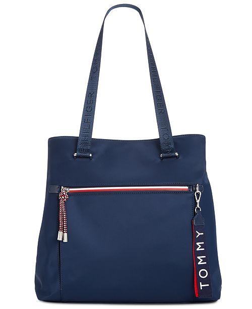 2737ee4af49 Tommy Hilfiger Lani Nylon Tote & Reviews - Handbags & Accessories ...
