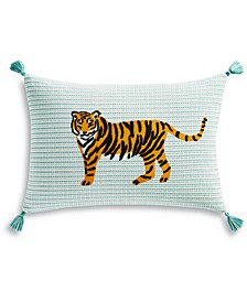 "Tiger 14"" x 20"" Decorative Pillow, Created for Macy's"