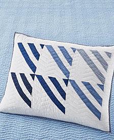 Martha Stewart Collection Nautical Sails Standard Sham, Created for Macy's